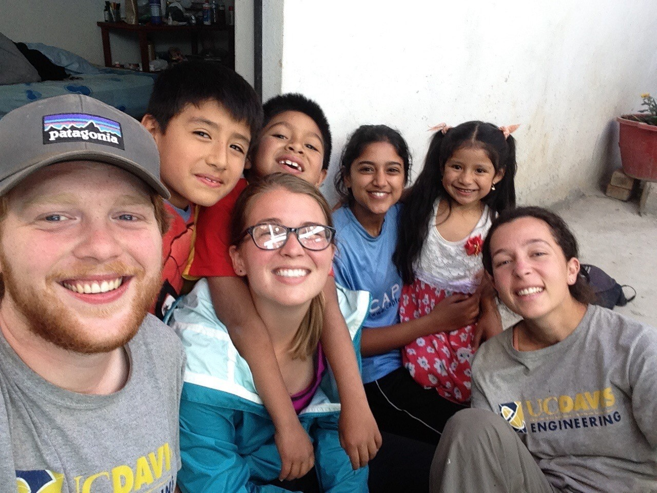 UC Davis EBW team spends time with local families.